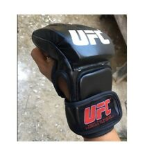 Boxing Gloves MMA Fight Punching Training Fighting Sparring Leather Glove