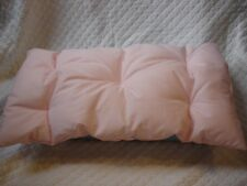 Pink 18 inch Doll Mattress Bedding fits American Girl made USA New