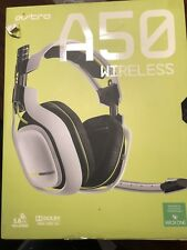 Astro Gaming A50 White Headband Headsets for Microsoft Xbox One