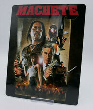 MACHETE - Glossy Bluray Steelbook Magnet Cover (NOT LENTICULAR)