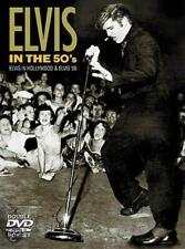 ELVIS PRESLEY, ELVIS IN THE 50's, RARE DOUBLE DVD BOX SET, UK 2002 (AS NEW)