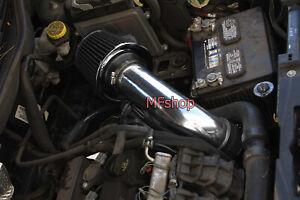 All Black For 2007-2010 Jeep Compass Patriot 2.0L 2.4L L4 Air Intake + Filter