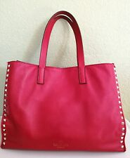 Valentino Rockstud Red Tote Bag