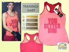 Camiseta deportiva de mujer entrenamiento con tirantes fitness talla S