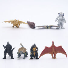 Godzilla 2 King of the Monster Mechagodzilla Gigan Anguirus 8pcs Action Figure