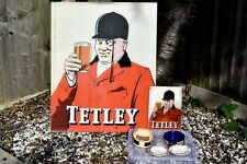 More details for tetley collection large & small perspex signs + four ashtrays wade regicor etc