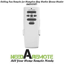Ceiling Fan Remote Light Dimmer Control for Hampton Bay UC7078T with Reverse