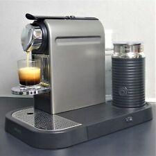 Nespresso XN 7101 Citiz & Milk TITAN GRAU Kapselmaschine + Aeroccino Milchschaum