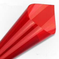 Red Decorative Window Film Solar Tint Glass Sticker Home Tint glass Decor