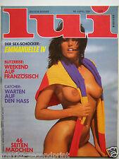 D - Lui 4/1984,  Mya Nygren, Audra Fraser, Lolita Lio, Meryl Streep