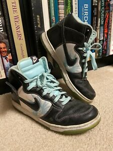 2007 Nike Dunk High Premium Santana Black / Ice VTG SB Size 10.5 - 312786 003