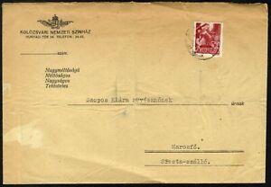 """Romania Hungary 1944 Northern Transylvania """" KOLOZSVÁRI NEMZETI SZÍNHÁZ"""" THEATER"""