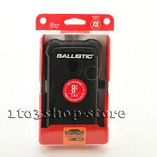 Ballistic Tough Jacket Maxx Case w/Belt Clip fo Moto Motorola G4 Play Black