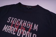 Marc O'Polo Stockholm 1967 T-Shirt Herren Blau Größe M