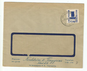 Sweden Helsingbor private post firm cover