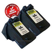 2PK PG-210XL PG210XL Black Ink Cartridges for Canon MP495 MX320 MX340 Printer