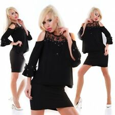 LACEY TOP & SKIRT SET LOOSE FITTING TOP OUTFIT BELL STRETCH SKIRT 14 16 VBS