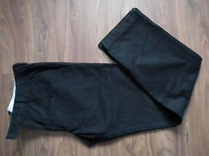 HUGO BOSS CHUCK2-W Designer Men Cotton Chino Navy Blue Straight Leg W32 L32 VGC