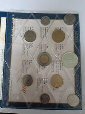 Serie Monete 1996 Repubblica Italiana con 500 lire Argento Caravelle