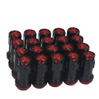 20Pcs M12X1.25mm Max Guard Racing Composite Wheel Nut Close End Heavy Lug Nuts