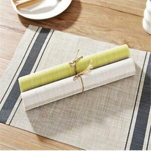 Kitchen Household Table Mat Dining Table Mats Insulation Placemats F3