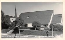 Burbank Ca First Church of Christ Scientist~Well-Coiffed Yard~Rppc 1940s