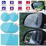 4PCS Car Rearview Mirror Sticker Rainproof Protective Film Anti-fog Rain Shield
