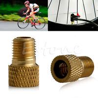 2X Presta to Schrader Tube Pump Tool Converter Bicycle Bike Tire Valve Adaptor