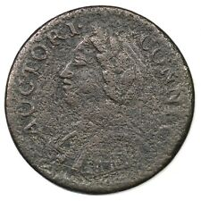 1787 6.2-M R-6 Laughing Head Connecticut Colonial Copper Coin
