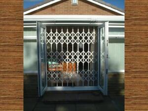 EASY INSTALL WINDOW GRILLES CONCERTINA GRILL WINDOW GATES TRELLIS GATES
