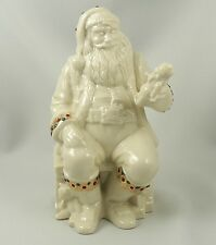 Lenox China Jewels ~ Santas Toyshop ~ 5th in Series ~ Excellent Condition