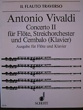 VIVALDI Concerto No. 2 for Flute, String Orchestra and Keyboard