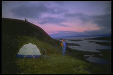 233029 CAMPEGGIO iqaluit Northwest Territories A4 FOTO STAMPA
