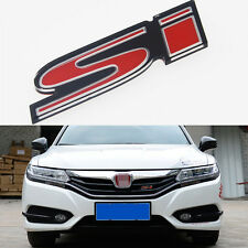1 Pcs SI Grill Boots Trunk 3D Red Emblem Badge Fit For Civic (UK Stock) S250