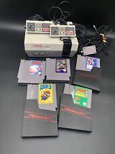 NES Konsole Nintendo + 5 Spiele + 2 Controller