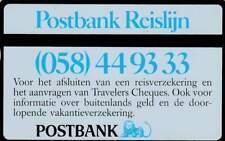 Telefoonkaart / Phonecard Nederland RCZ047 ongebruikt - Postbank Reislijn