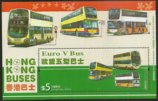 Hong Kong Buses HKD $5 stamp sheetlet MNH 2013