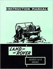Land Rover Car Owner & Operator Manuals