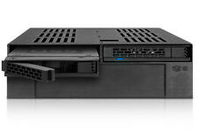 """ExpressCage MB322SP-B 2 x 2.5"""" SATA/SAS HDD/SSD to 5.25"""" Mobile Rack w/ 3.5"""" HDD"""