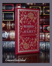 Romeo & Juliet by William Shakespeare Brand New Leather Bound Deluxe Collectible