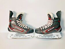 Ccm Ft360 Jet Speed Youth Hockey Skates - Size 7.5 - Black/Red/Gray - Used