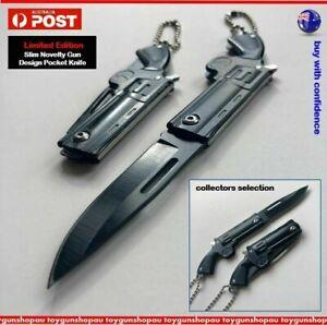 Small novelty themed 3D Gun Knife mini pocket knife Camping knife collectors gun