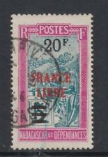 Madagascar - SG 242 - g/u - 1943 - 20f on 5f overprinted