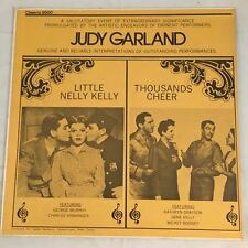 "LITTLE NELLY KELLY / THOUSANDS CHEER - JUDY GARLAND GENE KELLY 12"" VINYL LP"