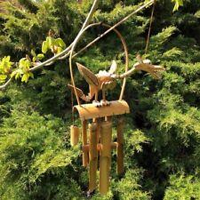 Dragón de madera Carillón De Viento Decoración De Jardín