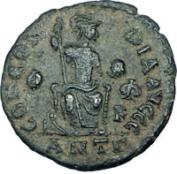 THEODOSIUS I the GREAT Genuine 378AD Authentic Ancient Roman Coin  i65916