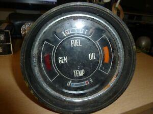 Ford Cortina MK 2 Corsair De Luxe Super GT E Lotus Fuel Temperature Gauge