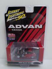 Johnny Lightning Advan 1998 Honda Civic 1 Of 4800 Mijo Exclusive Red Black