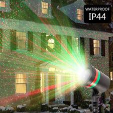 Christmas LED Lights Moving Laser Projector Landscape Star Pattern Lamp Outdoor