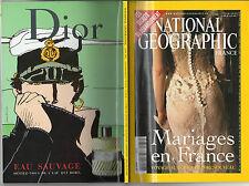 National Geographic France Pub parfum Dior Corto Maltese Pratt BD débarquement